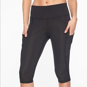 Athleta All In crops ( first pic shown for fit )